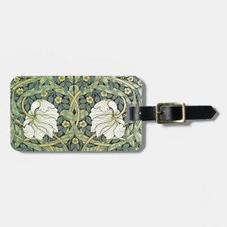 Pimpernel by William Morris Luggage Tag