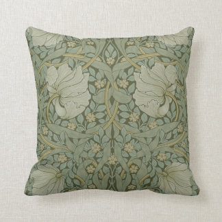 Pimpernel by William Morris Vintage Floral Textile Pillows