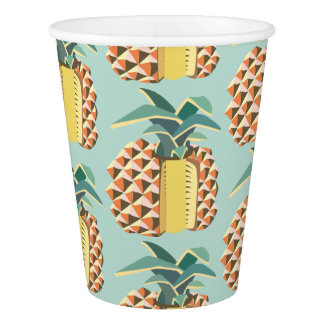 Pin Apple fruit illustration Paper Cup