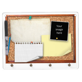 Pin Board (customizable) Dry-Erase Whiteboards