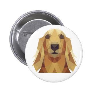 Pin/Botton golden retriever