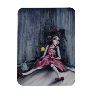"""Pin Cushion Doll2"" magnet"