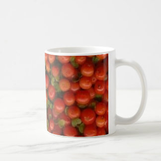 Pin Cushion / Tiny Tomato Coffee Mug
