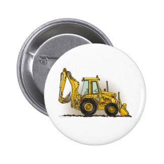 Pin de bouton de pelle rétro macaron rond 5 cm