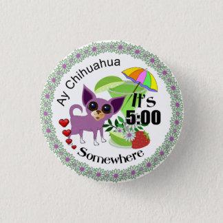 Pin de chiwawa d'Ay Macaron Rond 2,50 Cm