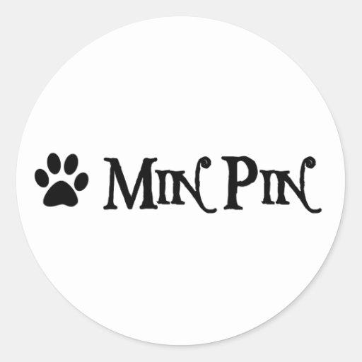 Pin de minute (style de pirate avec le pawprint) autocollant