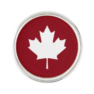 Pin de revers de feuille d'érable du Canada Épinglette