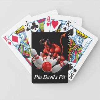 Pin Devil's Pit Bicycle Playing Cards