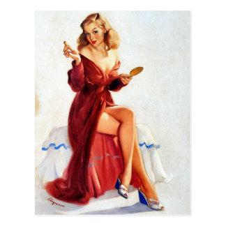 Pin- mignon carte postale