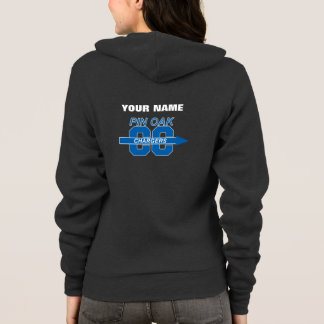 Pin Oak Ladies Cross Country Sweat Jacket