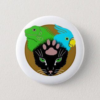 Pin-On Badge - BeastMastery 2 Inch Round Button