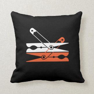 Pin-peg Throw Pillow