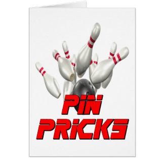 Pin Pricks Bowling Card