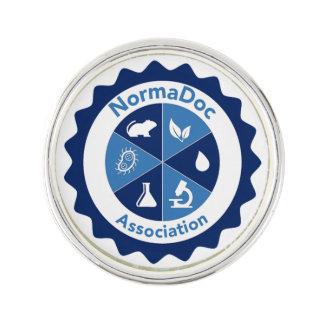 Pin' S - Blue NormaDoc logo Lapel Pin