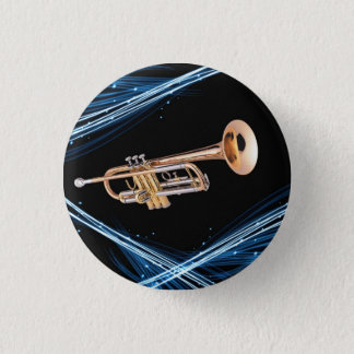Pin trumpet player