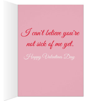 PIN UP 1950S VALENTINE CARD
