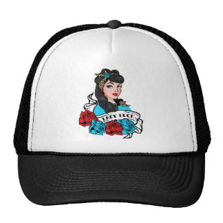 Pin-up Girl, Rock-A-Billy Trucker Hat