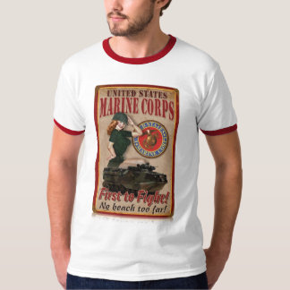 Pin Up Marine Corps Shirt