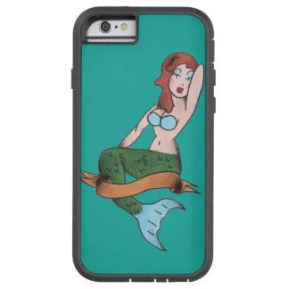 Pin up Mermaid Tough Xtreme iPhone 6 Case