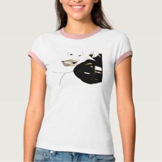 Pin vintage du rockabilly des femmes vers le haut tee shirts