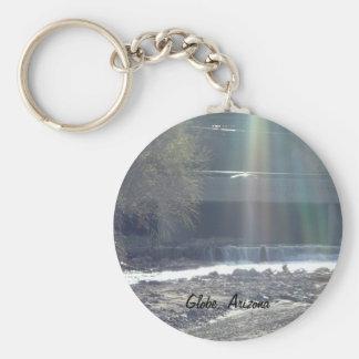 Pinal Creek, Globe, Arizona Basic Round Button Keychain