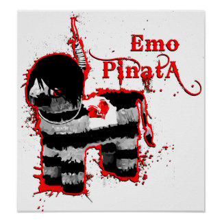 pinata d'emo poster