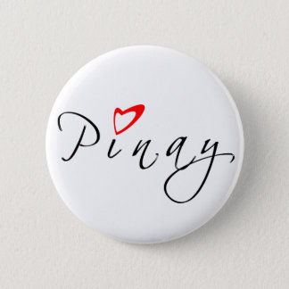 Pinay 2 Inch Round Button
