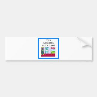 pinball bumper sticker