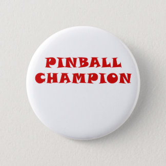 Pinball Champion 2 Inch Round Button
