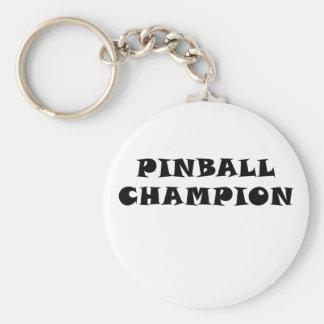 Pinball Champion Keychain