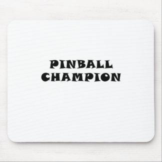 Pinball Champion Mouse Pad