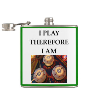 PINBALL HIP FLASK