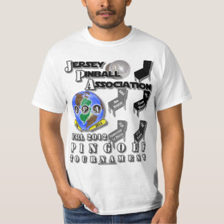 PINBALL: JPA Fall 2012 PinGolf Tournament T-shirt