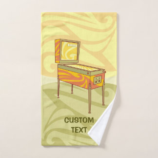 Pinball machine bath towel set