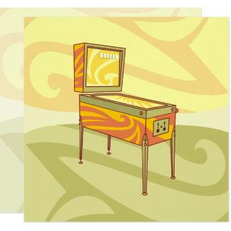 Pinball machine card
