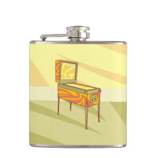 Pinball machine flask