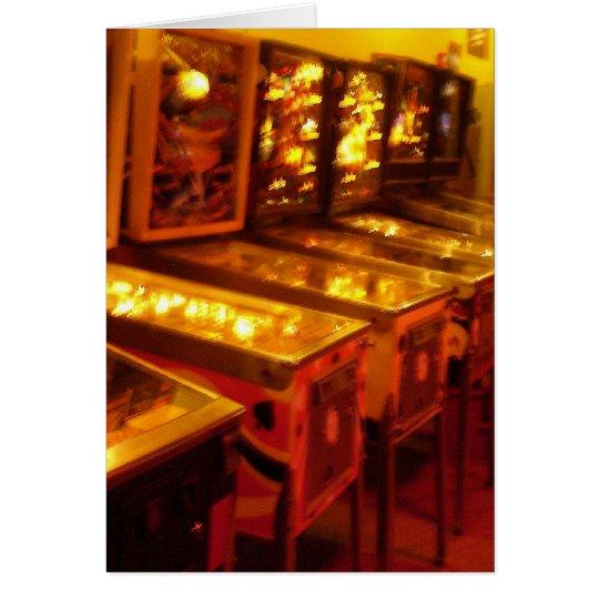Pinball Machines Card