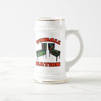 Pinball Nation Beer Stein