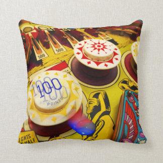 Pinball pillow. throw pillow