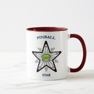 Pinball Star 1000 Mug