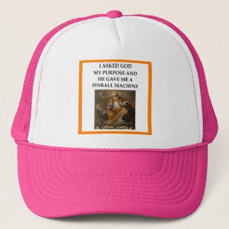 PINBALL TRUCKER HAT