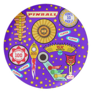 Pinball Wizard in Violet Plate