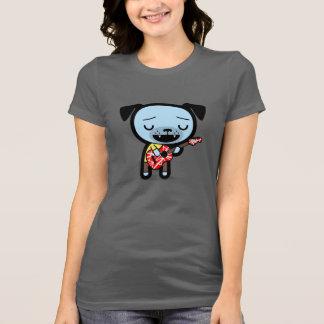 """Pinche Amigos Women's T-Shirt: """"Guitar Dog"""" T-Shirt"""