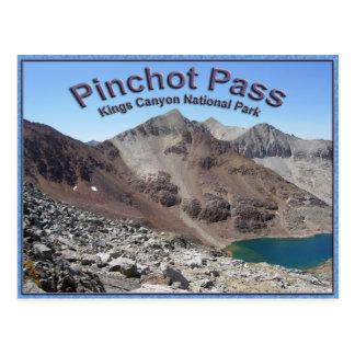 Pinchot Pass on the John Muir Trail Postcard