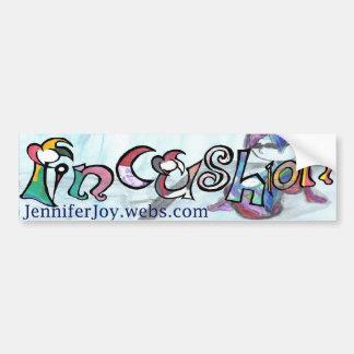 Pincushion Bumper Sticker