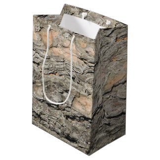 Pine Bark Medium Gift Bag