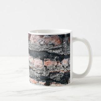 Pine bark pattern coffee mug