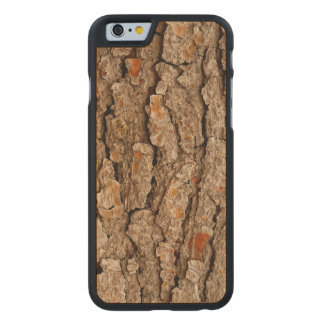 Pine Bark Texture Carved Maple iPhone 6 Case