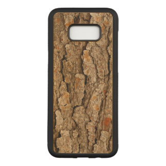 Pine Bark Texture Carved Samsung Galaxy S8+ Case