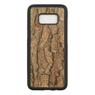 Pine Bark Texture Carved Samsung Galaxy S8 Case